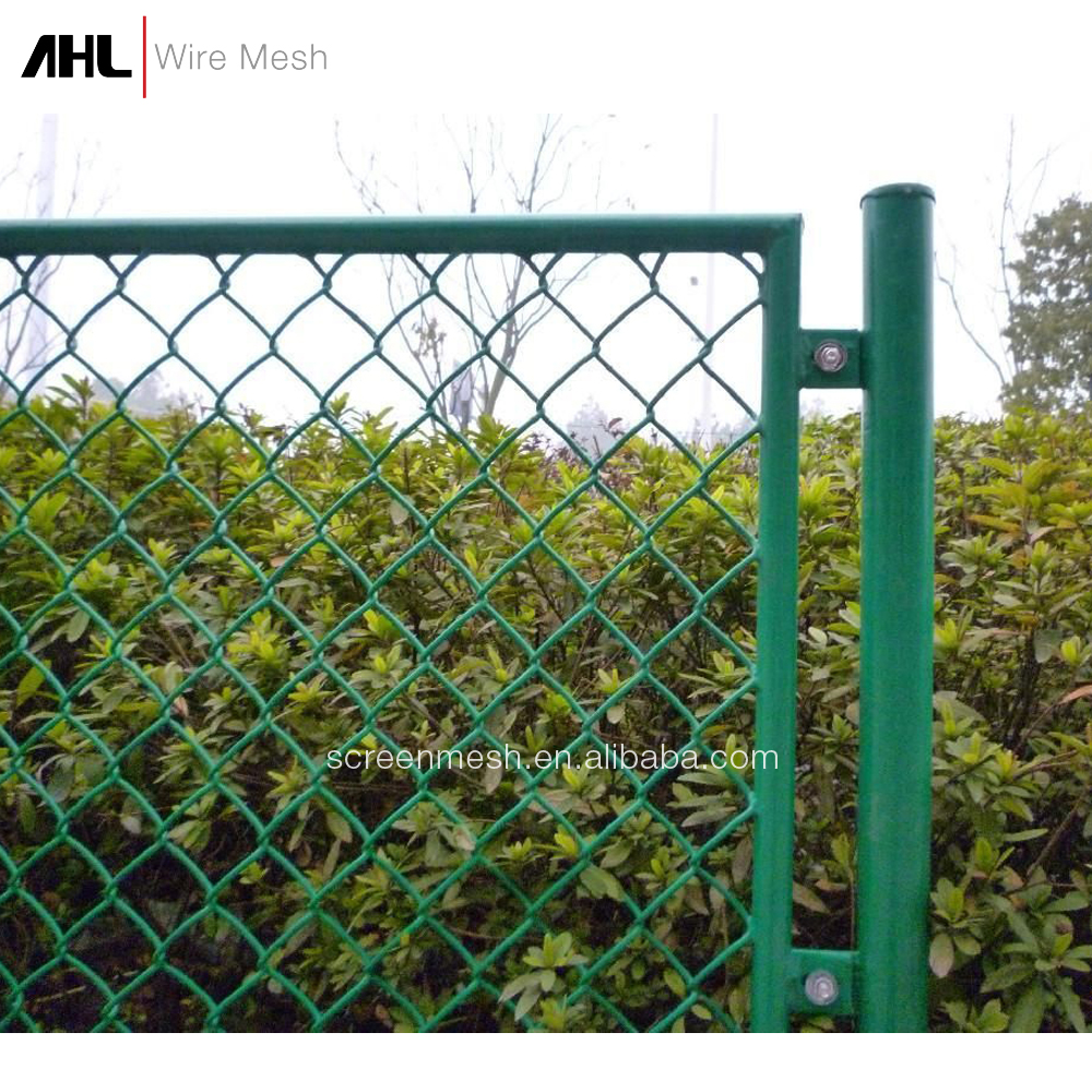 Wholesale Homemade For Sale Chain Link Fence PVC Coated Home Depot Wire Mesh 6ft Chain Link Fence