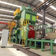Widely Used Continuous Roller Conveyor Shot Blasting Machine Sand Blasting Machine Homemade