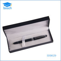 Black Luxury Mont Blank Style Metal Roller Pen In A Gift Box