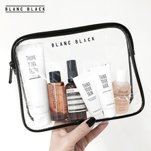 New product High Quality Travel Toiletry Bags Male and Female Transparent PVC Cosmetic Bag