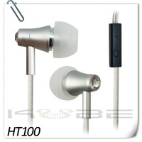 mobile phone of handfree earphone earbuds with mic