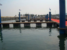 Rotomolding plastic pontoon/floating dock