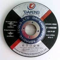 High quality 4.5inch grinding wheel for stone and concrete made in China