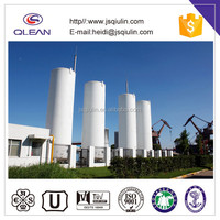 cryogenic storage tank pressure vessel for industrial gas
