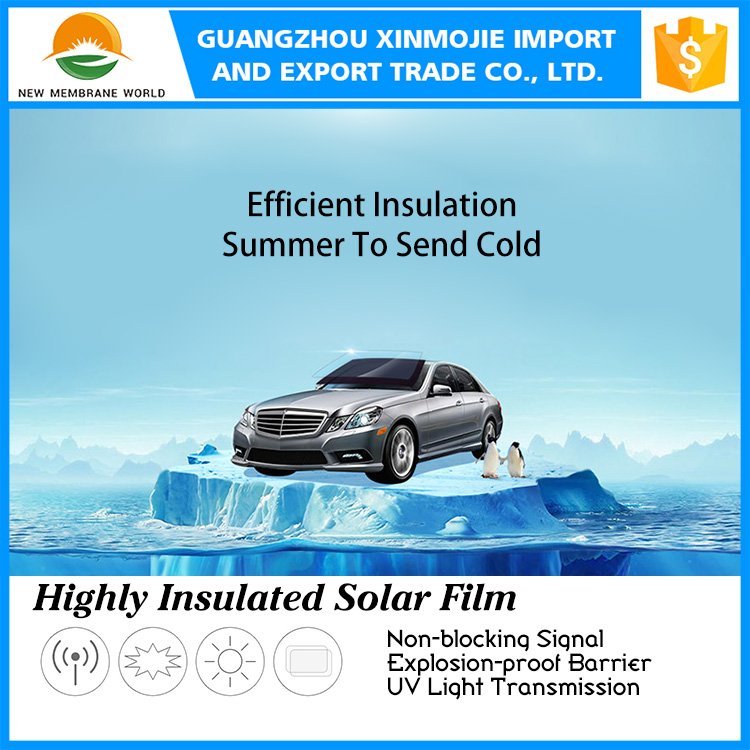 High heat insulation best sale car window film automotive films Solar Insulation Tinting