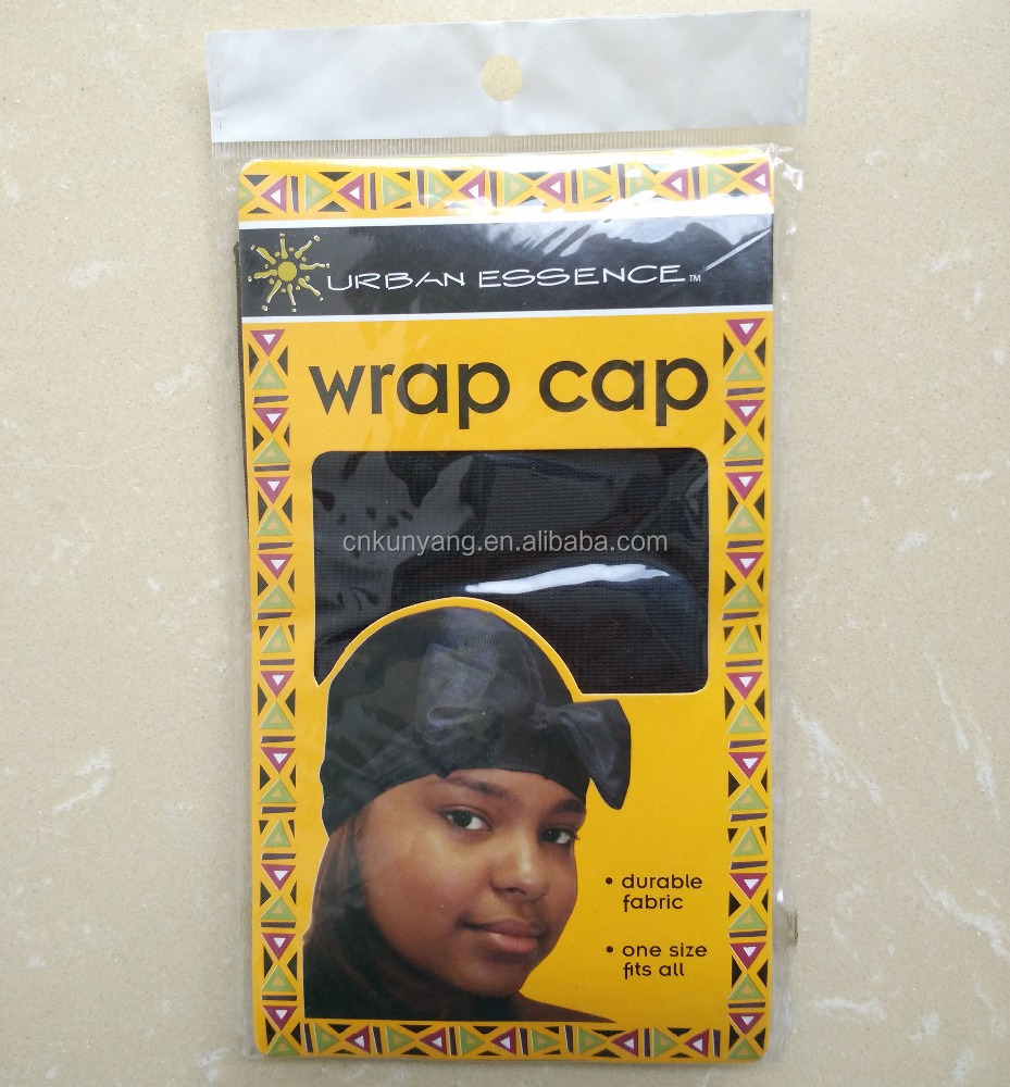 Women's Satin Wrap Cap with Asst colors with Asst colors Black White Navy Red