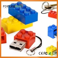Flash Drive mattone Pendrive Marketing USB 3.0 / 2.0 Logo USB per Brain Costruire per bambini