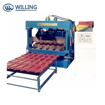 Customized tile roll machine for different clients