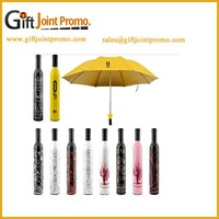 Promotional 3 Fold Wine Bottle Umbrella
