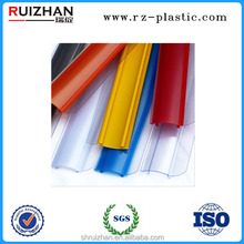 Extruded plastic PVC price shelf tags holder for products display