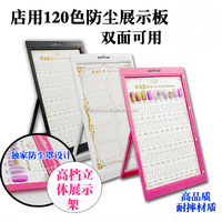 transparent and morden acrylic metale nail desktop photo picture frame