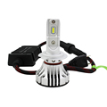 12V-24v superb bright 6000lm high low bem F2 led headlight auto lighting system H1 H7 H9 H11 headlamp with high speed ball fan
