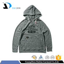 Fashion new design drawstrings cheap custom printed pullover grey men cotton man wholesale hoodies