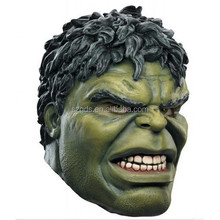 2015 Hot Marvel The Avengers Hulk hero Latex Mask marvellous cosplay halloween mask for sale