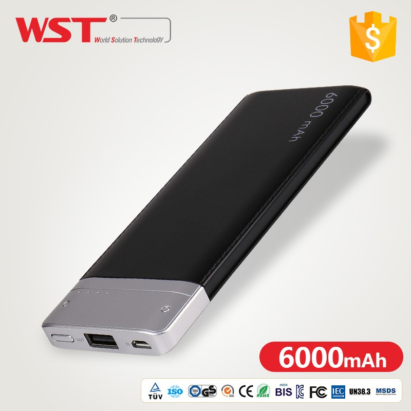 WanshunTong 17 years manufacturers DP662 6000mah power banks