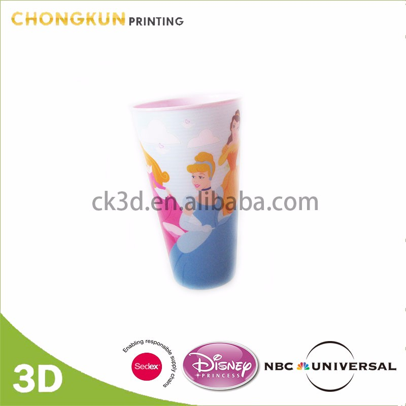Disney Audited Factory kids plastic mugs cartoon