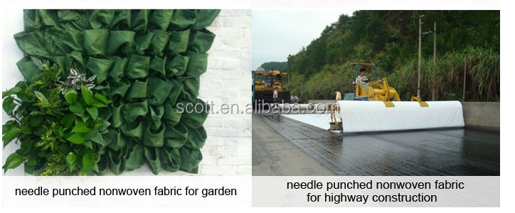 guangdong hot sale Needle punched cotton felt from factory