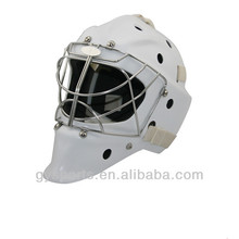2016 gym equipment ice hockey goalie helmet with full face cage for head CE Approval