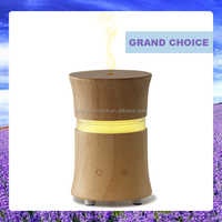 Wood Aromatherapy Diffuser Ultrasonic Air Humidifier with Change 7 LED color