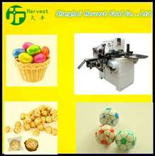 Electric driving Ball lollipop bunch wrapping machine or candy packing