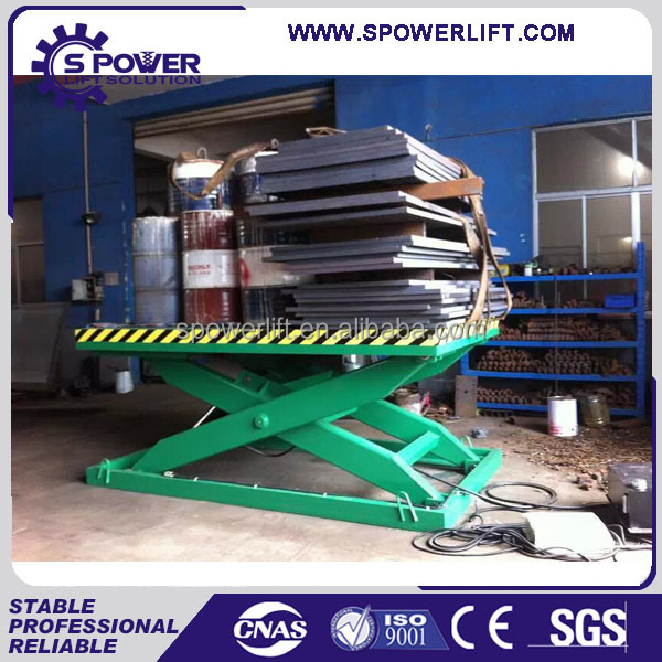 China Top Quality Hydraulic Scissor Car Lifts For Home