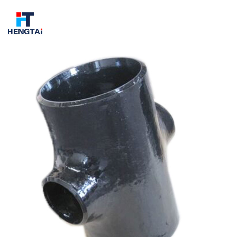 Carbon steel 4 way cross pipe fitting tee connector