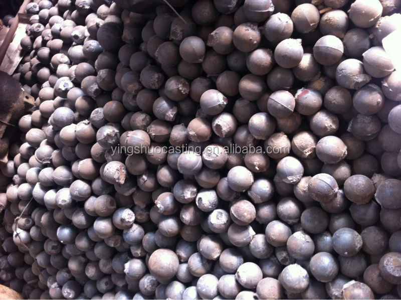 hot rolled steel forged grinding media steel balls