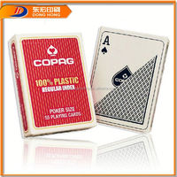 24K Gold Plated Playing Card,Plastic Playing Cards Producer