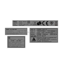 electronic led label electronic component label
