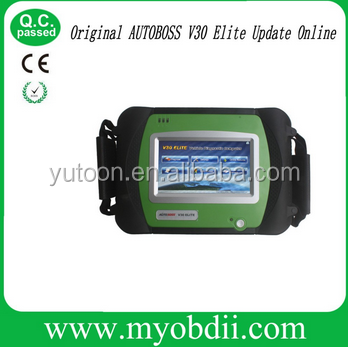 2015 Vehicle diagnosis Autoboss V30 diagnostic scan tool diagnostic computer /automotive scan tool, update online -from YUTON