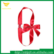 Handmade satin ribbon bow for packing