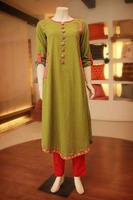 Latest Fashionable Stylish Chiffon Kurti 2013