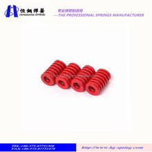 Chinese supplier large heavy duty red compression Die spring