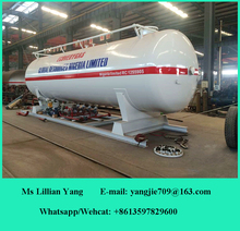 30 CBM Above Ground LPG Storage Tank Used For LPG Skid Station LPG Filling Station