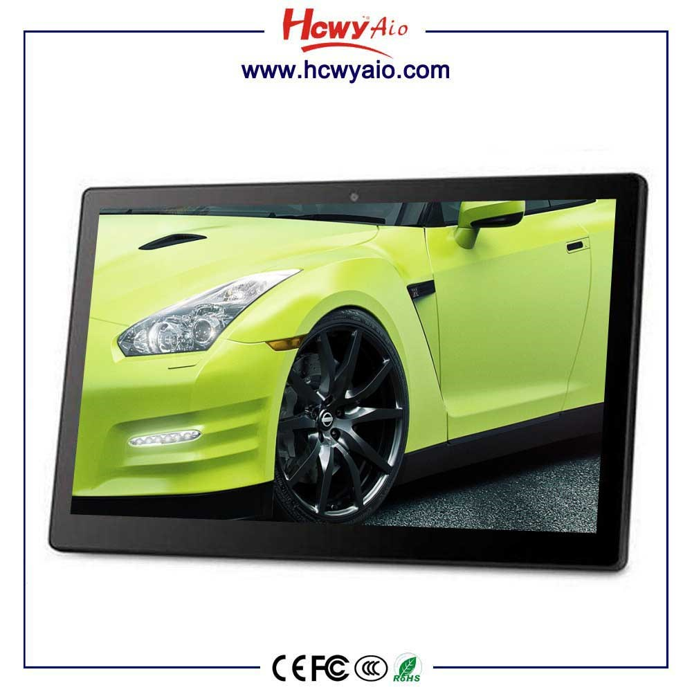Low cost 21.5 inch Android RK3288 Tablets wall mounted touch screen computer