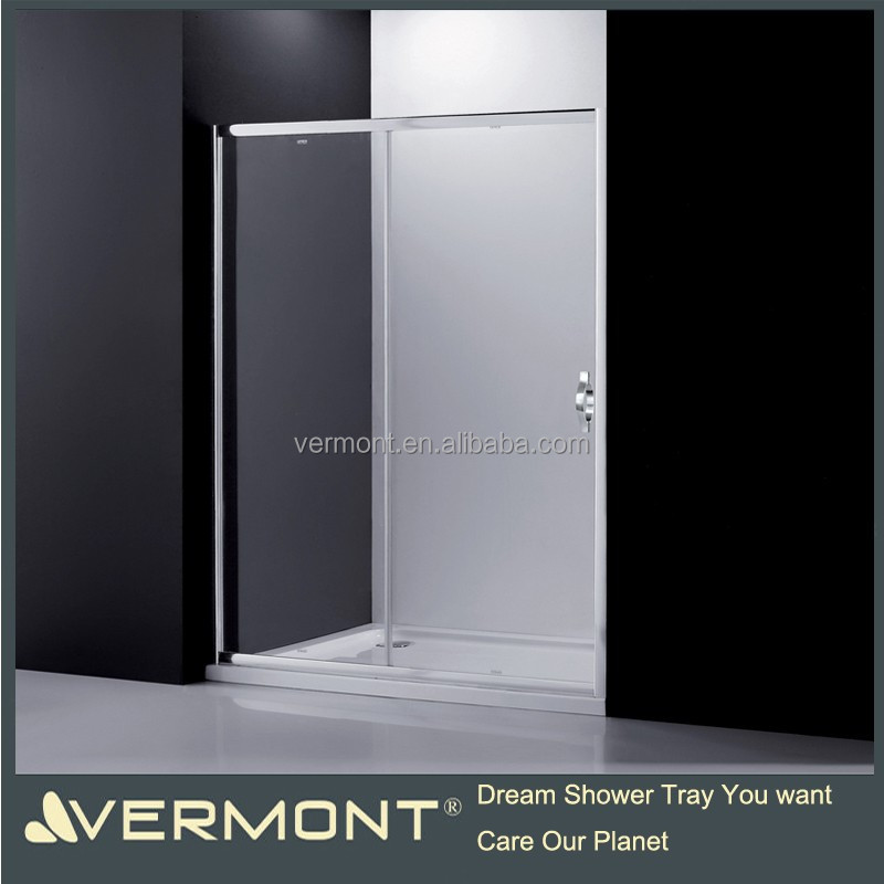 Hot selling glass sliding shower door with frame
