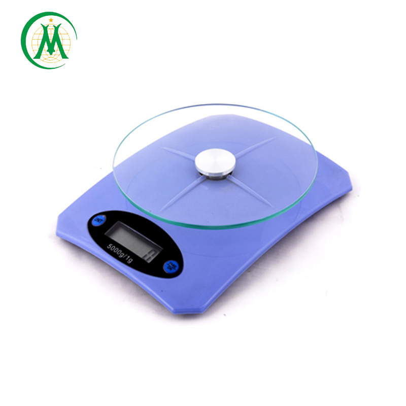 China manufacturer digital glass electronic kitchen scale with lcd electronics scales