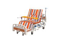 Multi-function hospital manual operation medical bed for home use