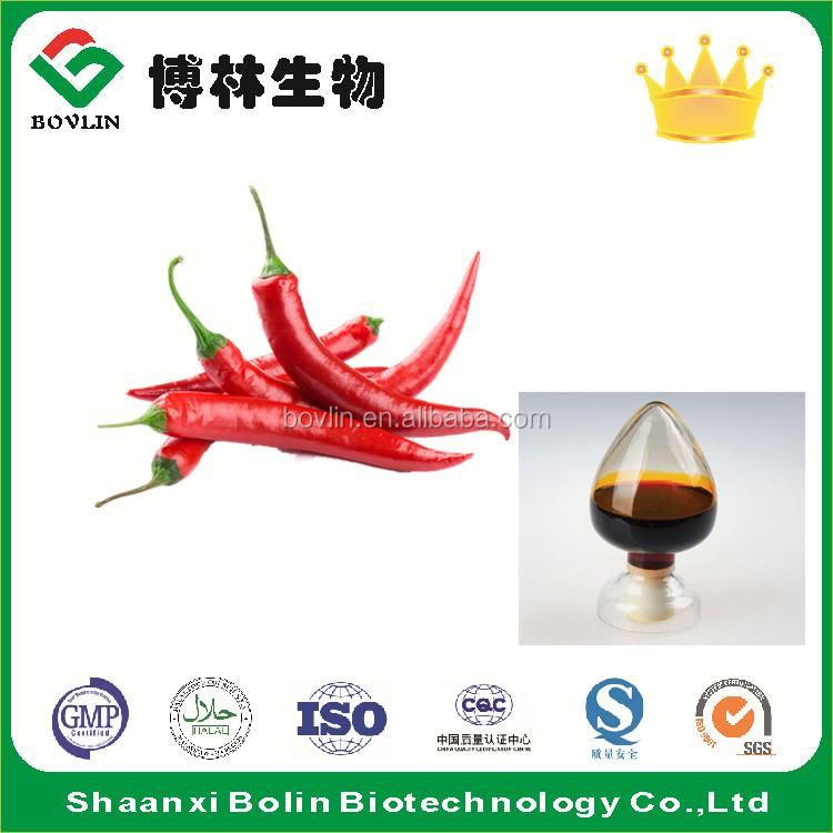 Pure Food Grade Capsicum Oleoresin for food additive