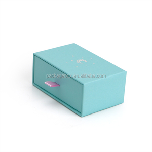 pull out designer slide open gift box mini drawer boxes hardboard with replica sliding lid