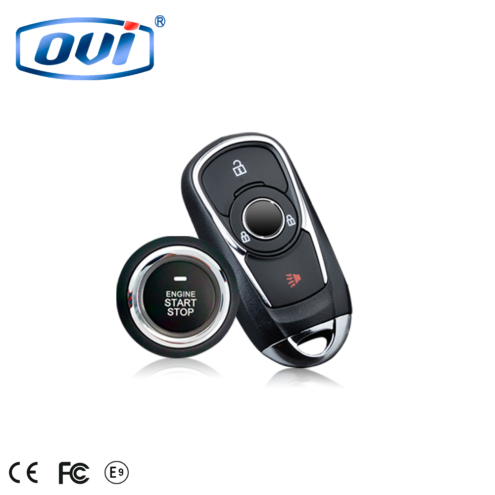 Manufacturer price car alarm system with remote engine start car keyless entry auto smart start system