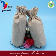 New style new products jute pouchs for white wine