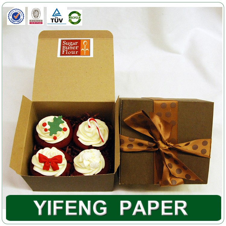 CUSTOM CUPCAKE/MUFFIN/CAKE PAPER PACKAGING BOX WHOLESALE