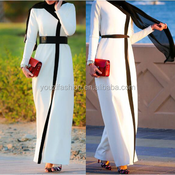 Latest long sleeve maxi dress Muslim Kaftan abaya latest burqa designs pictures