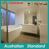 AIS-V113 House bathroom vanity 2 door 2 drawer bath hanging cabinet for Australian market
