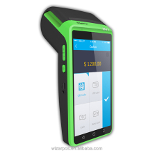 Handheld Andorid Printer PAD for top up, lottery, bus ticketing, parking lot solutions