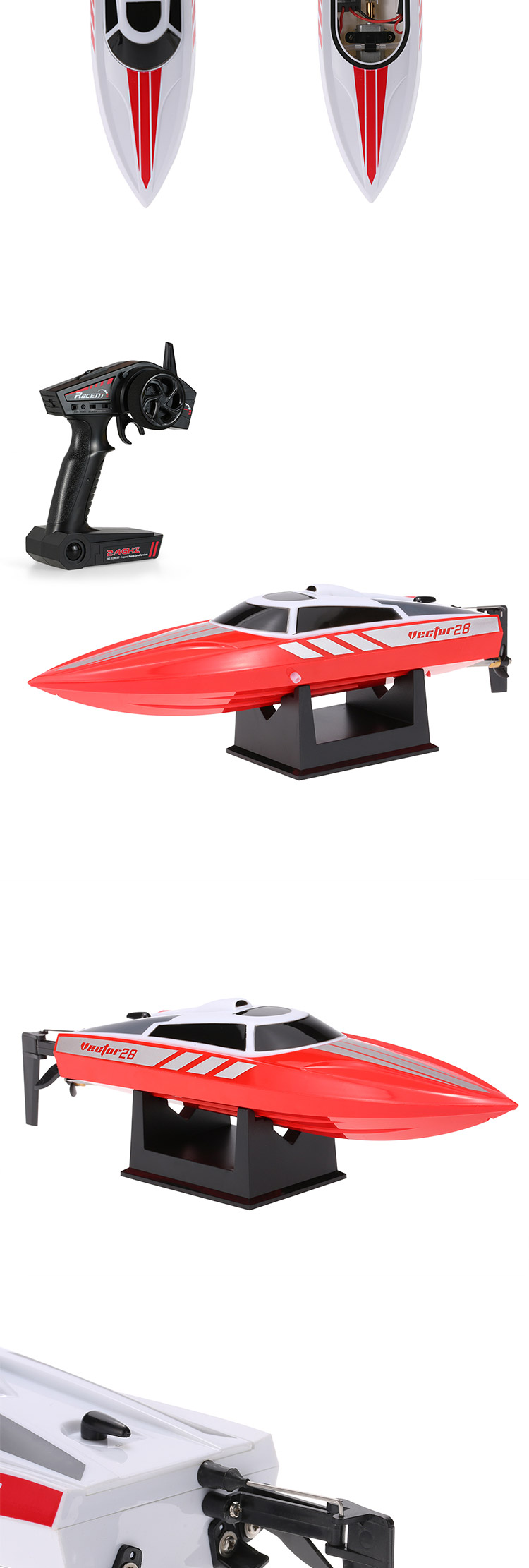 Perfect Toy for Pools and Lakes Remote Control Water Speed Boat for sale