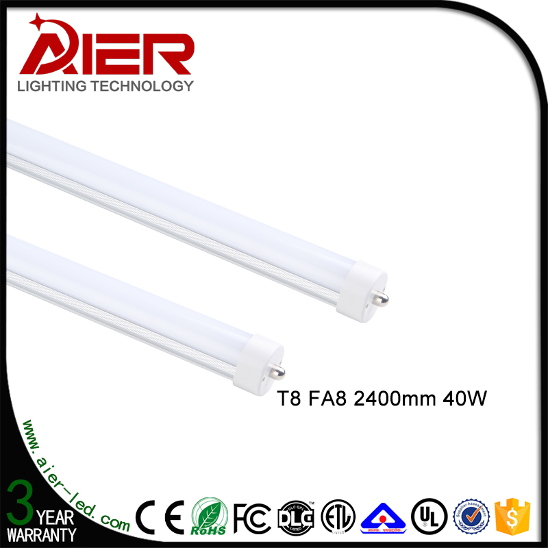 8ft led <strong>tube</strong> t8 192pcs FA8 R17d G13 led <strong>tube</strong> with factory price