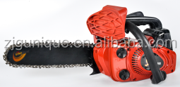25.4cc gasoline gasolin chain saw poulan dolmar chain saw top pole long handle chainsaw steel mini chain saw