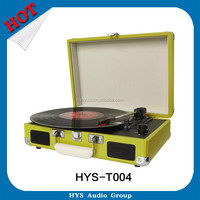 Best Quality Red Modern Turntable Vinyl Record Player To USB Recording